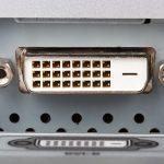 DVI Anschluss für einen Monitor