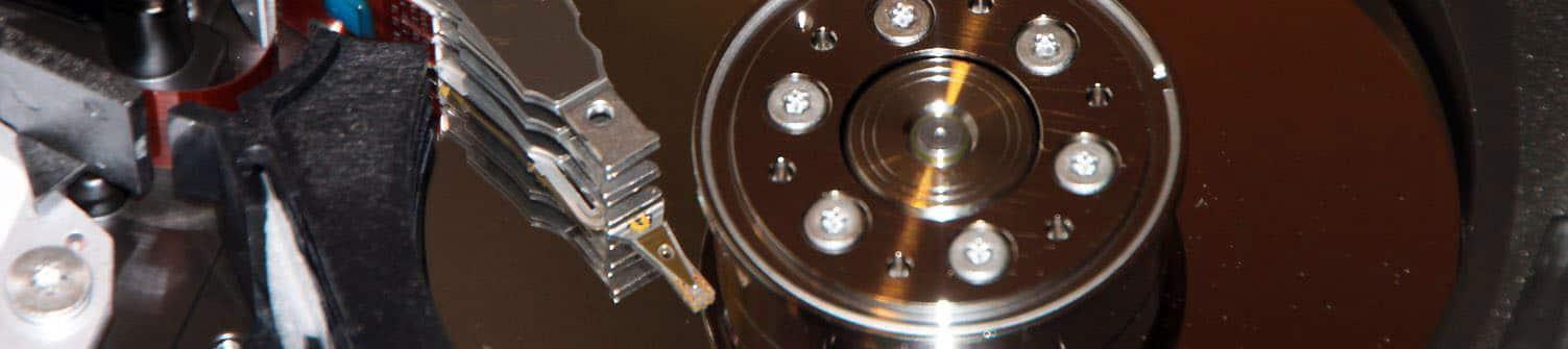 Datenrettung und Datenwiederherstellung von Festplatten
