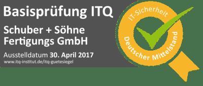 ITQ Basisprüfung IT-Sicherheitsprüfung Hamburg