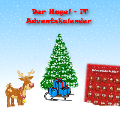 gewinnspiel der hagel it adventskalender. Black Bedroom Furniture Sets. Home Design Ideas