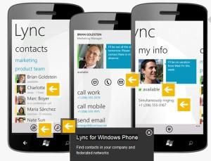 Lync auf Smartphones
