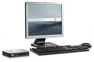 Thin Client mit Monitor vom IT-Systemhaus Hamburg