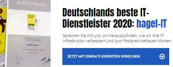 Deutschlands beste IT-Dienstleister 2020 Hamburg, Bremen, Kiel, Lübeck