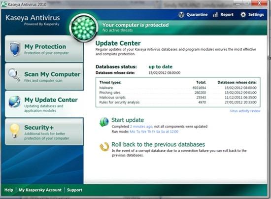 kommerzielles Antivirus Programm
